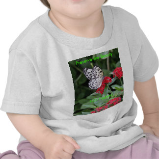 GO GREEN!  Butterfly Beauty Shirts