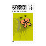 Go Green, Butterfly Postage Stamp