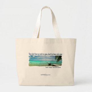 Go Green Canvas Bag