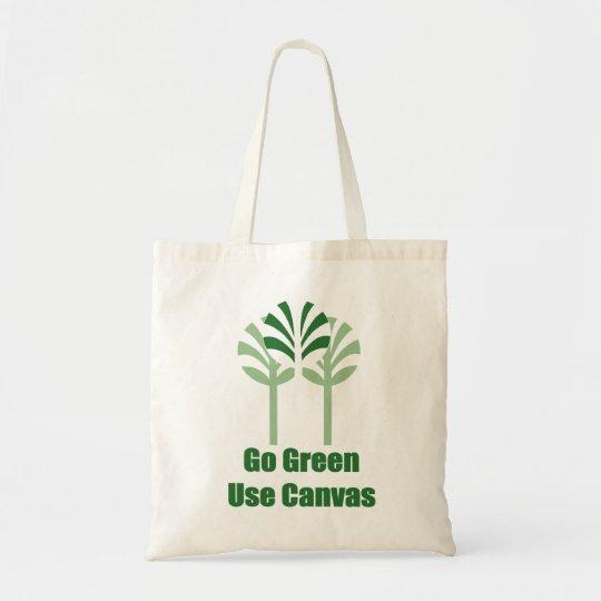 Go Green Canvas Bag