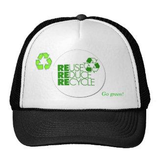 Go green! Cap Trucker Hat