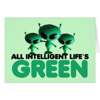 Go green card