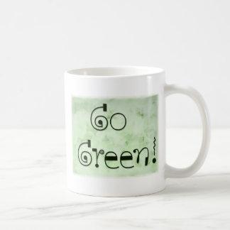 Go Green coffe mug