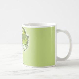 go green coffee mug