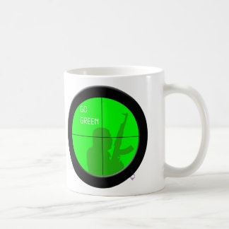 Go Green! Coffee Mug