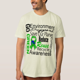 Go Green Collage T-shirt