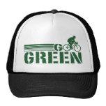 Go Green Cycling (male) Mesh Hats