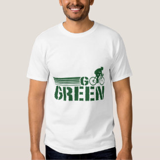 Go Green Cycling (male) T-shirt