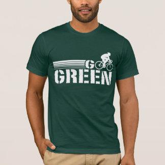 Go Green Cycling (male) T-Shirt