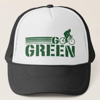 Go Green Cycling (male) Trucker Hat