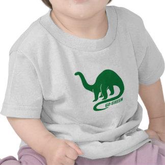 Go Green Dinosaur Tees