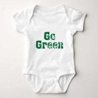 Go Green dis Baby Bodysuit