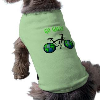 Go Green (Dog T-Shirt)