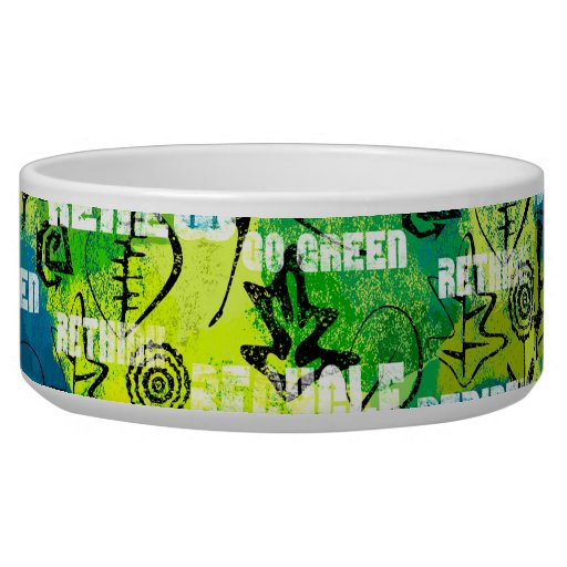 Go Green Dog Water Bowl