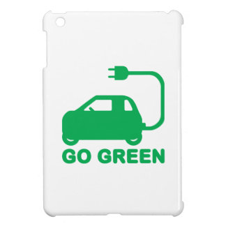 Go Green ~ Drive Electric Cars Case For The iPad Mini