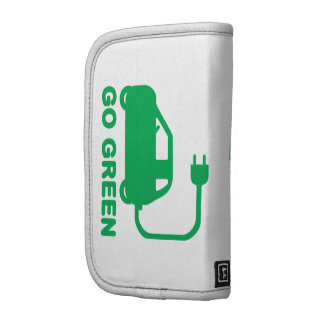 Go Green ~ Drive Electric Cars Folio Planner