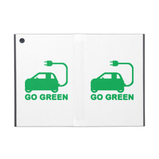 Go Green ~ Drive Electric Cars Case For iPad Mini