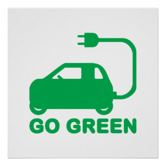 Electric Car Posters Zazzle