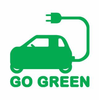 Go Green ~ Drive Electric Cars Statuette