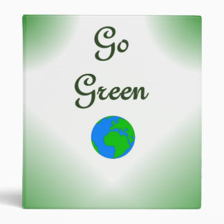 Go Green Earth Binder
