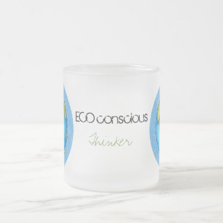Go Green - Earth Day Frosted Glass Coffee Mug