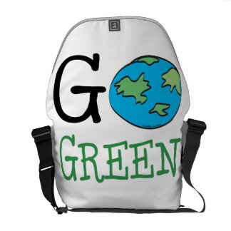 Go Green Earth Day Commuter Bags