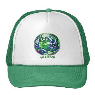 Go green earth green hat