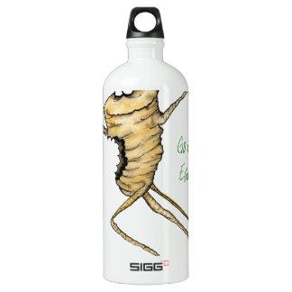 Go Green - Eat Me!, tony fernandes Water Bottle