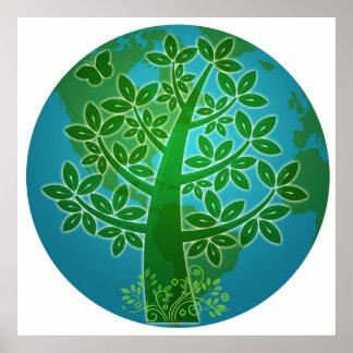 Go Eco Friendly Posters   Zazzle