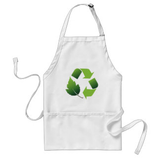 Go Green Environment Adult Apron