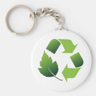 Go Green Environment Keychain