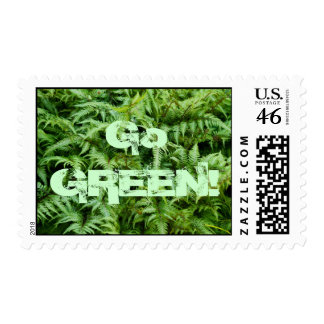 """""""Go Green"""" Environment Save the Planet Postage NEW"""