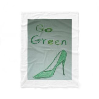 Go Green Fleece Blanket