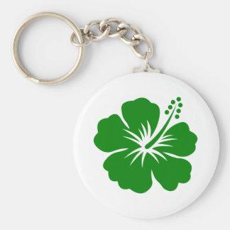 go green flower designs keychain