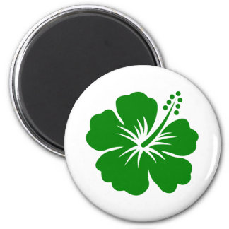 go green flower designs magnet