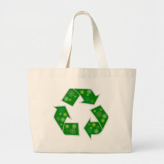 Go Green Flower Power Recycle Shopping Bag