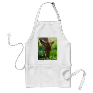 Go green for Deer Antelope Adult Apron