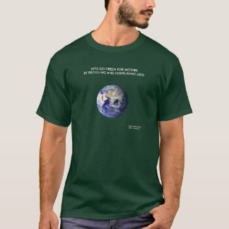 GO GREEN FOR MOTHER EARTH SWEATSHIRT