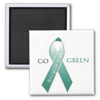Go Green! Fridge Magnet
