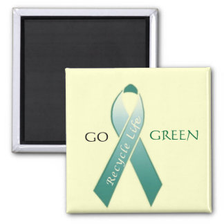 Go Green! Fridge Magnets