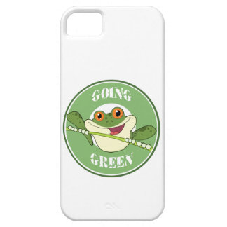 Go Green Frog iPhone SE/5/5s Case