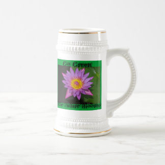 Go Green! future Beer Stein