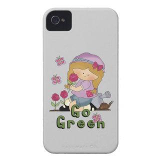 Go Green Garden iPhone 4 Case