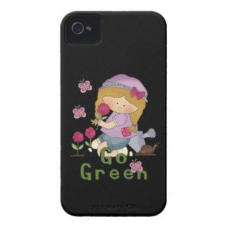 Go Green Garden iPhone 4 Cover