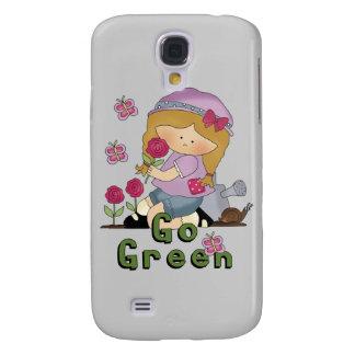 Go Green Garden Galaxy S4 Cases