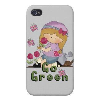 Go Green Garden Case For iPhone 4
