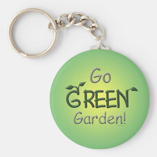 Go Green, Garden Key Chain