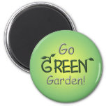 Go Green, Garden Magnet