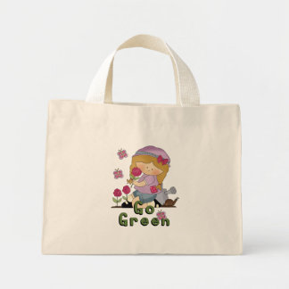 Go Green Garden Mini Tote Bag