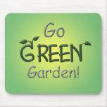 Go Green, Garden Mouse Pads
